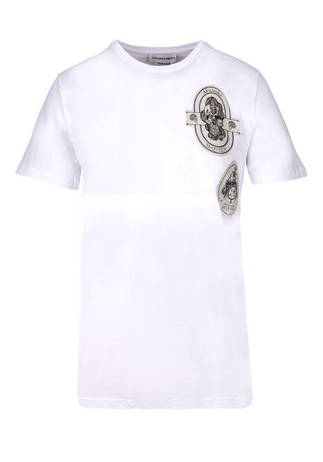 T-shirt Alexander McQueen Alexander McQueen | 8 | 557144QMX049000