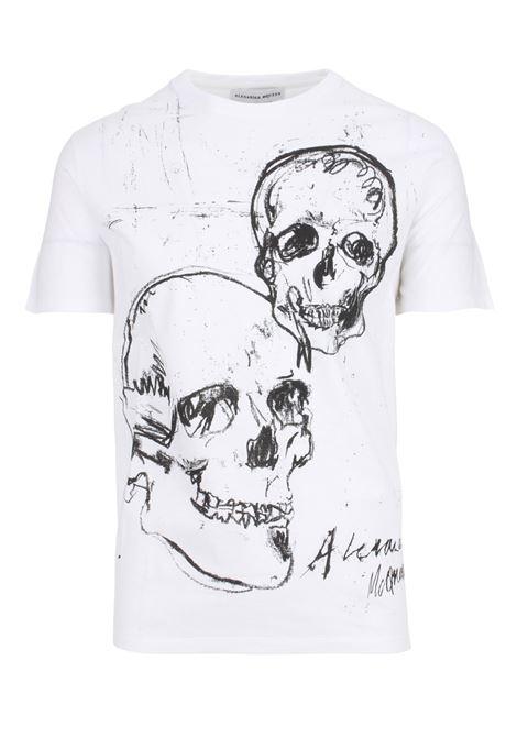 T-shirt Alexander McQueen Alexander McQueen | 8 | 557809QMZ910900