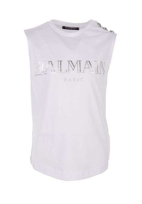 Balmain Paris Kids tanktop BALMAIN PARIS KIDS | -1740351587 | 6K8532KX080100AG