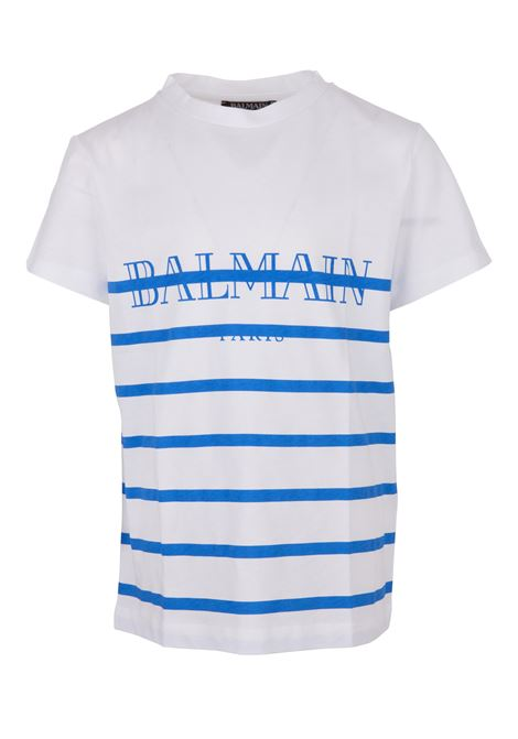 Balmain Paris Kids t-shirt BALMAIN PARIS KIDS | 8 | 6K8541KX080100BL