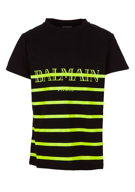Balmain Paris Kids t-shirt BALMAIN PARIS KIDS | 8 | 6K8541KX080930GL