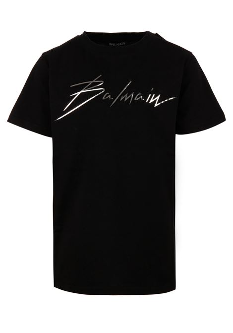 T-shirt Balmain Paris BALMAIN PARIS KIDS | 8 | 6K8661KX120930AG