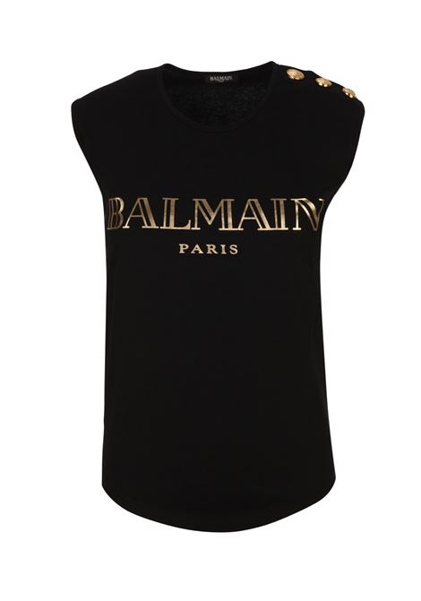 Balmain Paris tank top BALMAIN PARIS | -1740351587 | RF11075I042EAD
