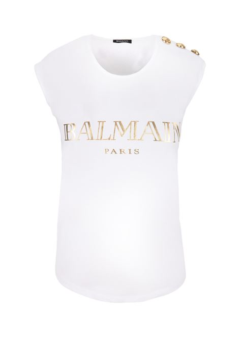 Balmain Paris t-shirt  BALMAIN PARIS | -1740351587 | RF11075I042GAD