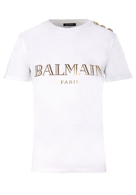 T-shirt Balmain Paris BALMAIN PARIS | 8 | RF11077I042GAD