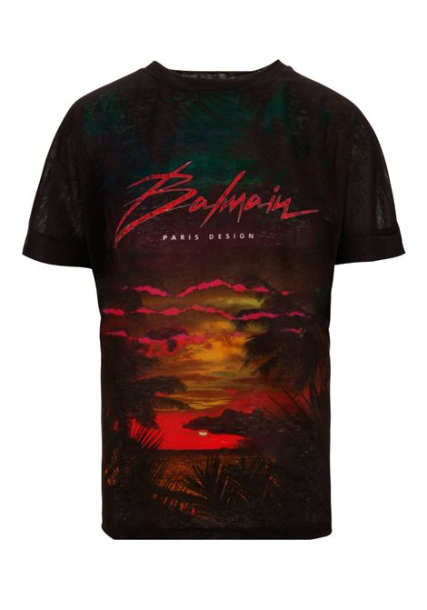 Balmain Paris t-shirt BALMAIN PARIS | 8 | RF11122I061EAH