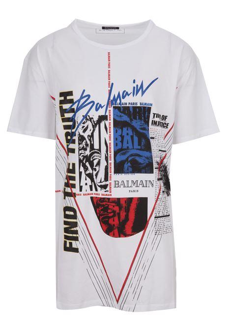 T-shirt Balmain Paris BALMAIN PARIS | 8 | RH01060I147AAA