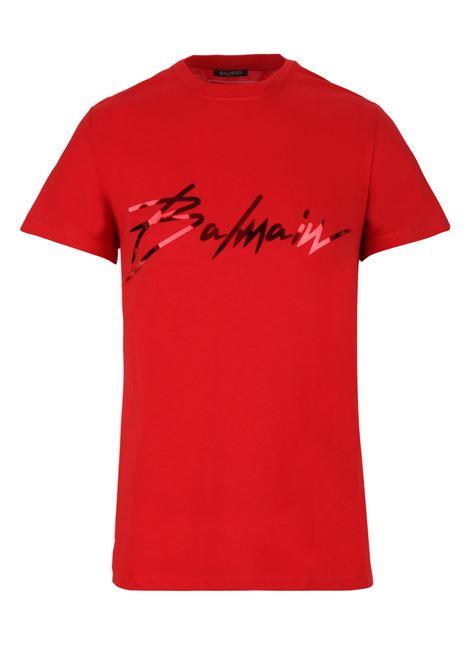 Balmain paris t-shirt BALMAIN PARIS | 8 | RH01601I1313AA