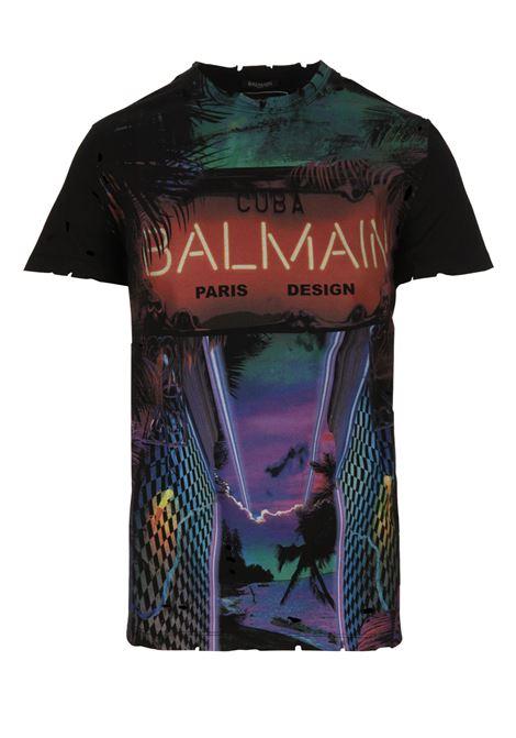 T-shirt Balmain Paris BALMAIN PARIS | 8 | RH11601I053AAA