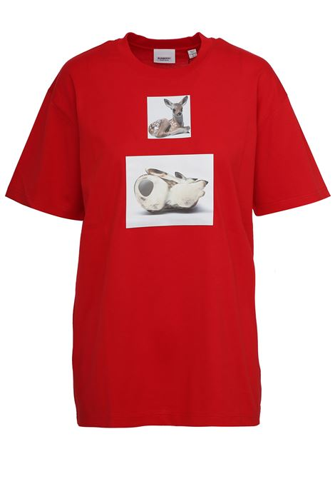 Burberry T-shirt  BURBERRY | 8 | 4560519RED