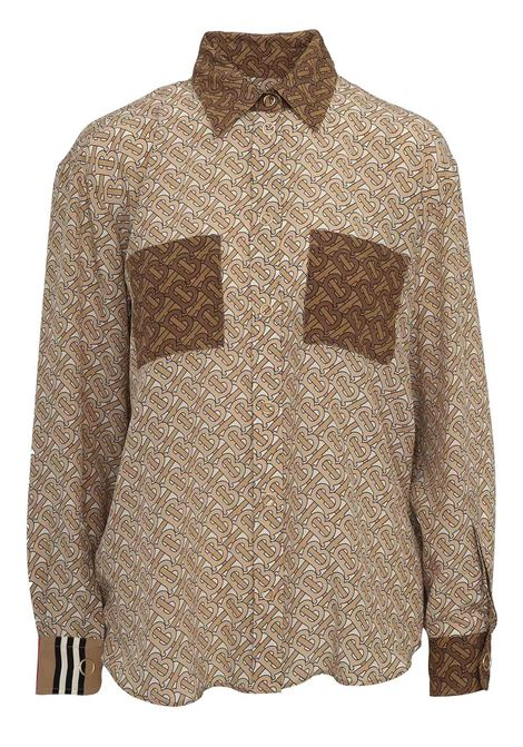Burberry Shirt BURBERRY | -1043906350 | 4560925CAMEL