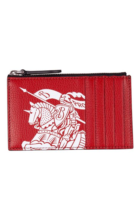 Burberry cards holder BURBERRY | 633217857 | 8005968REDBLACK