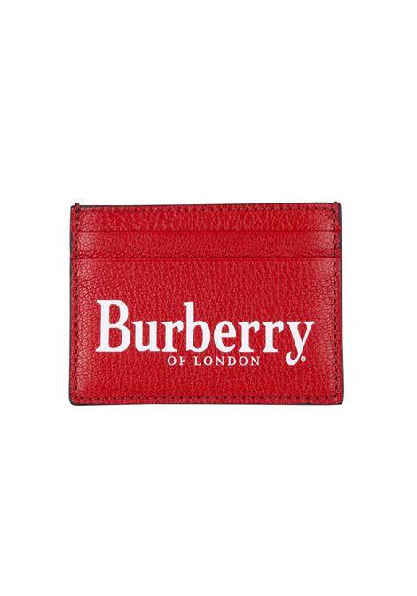 Porta carte Burberry BURBERRY | 633217857 | 8005983REDBLACK