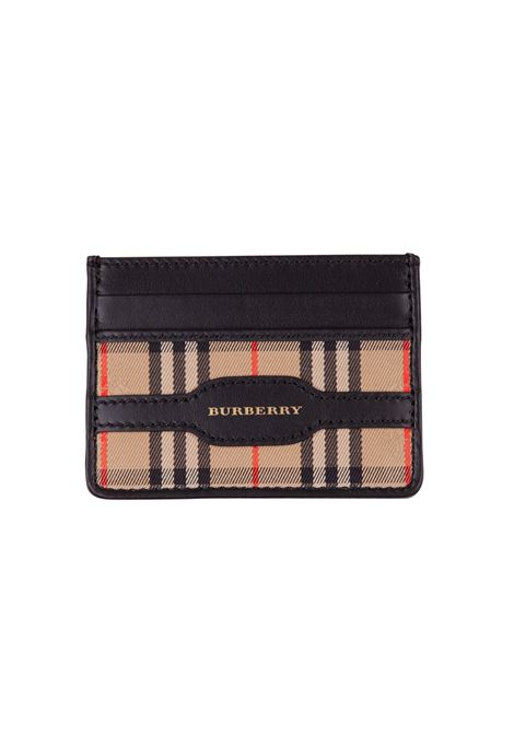 Porta carte Burberry BURBERRY | 633217857 | 8006883BLACK