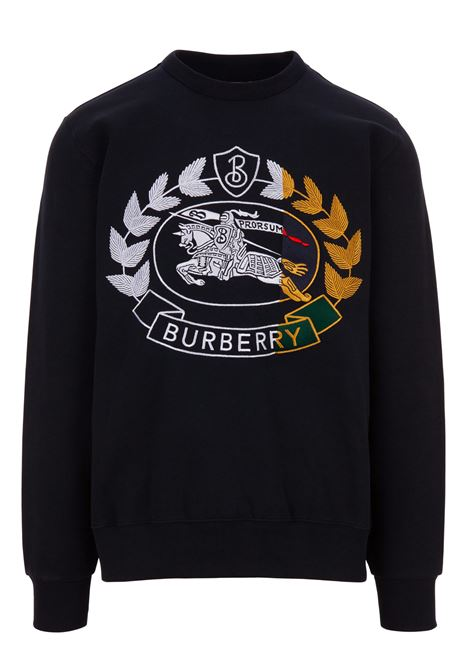 Felpa Burberry BURBERRY | -108764232 | 8007073NAVY