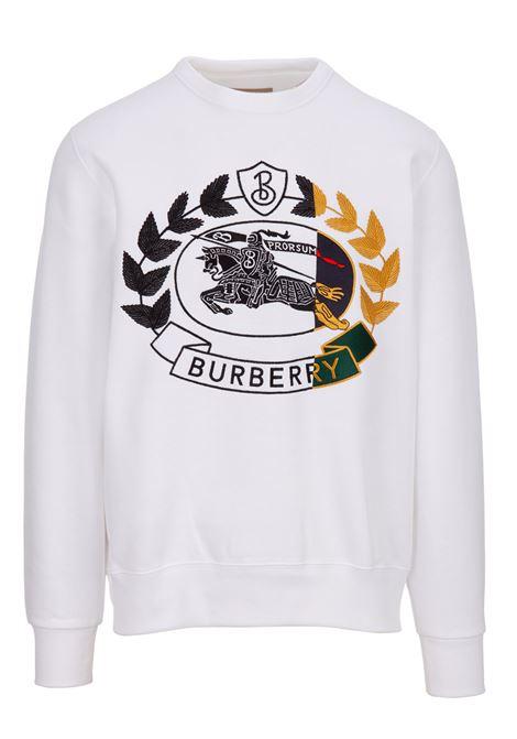 Felpa Burberry BURBERRY | -108764232 | 8007074WHITE