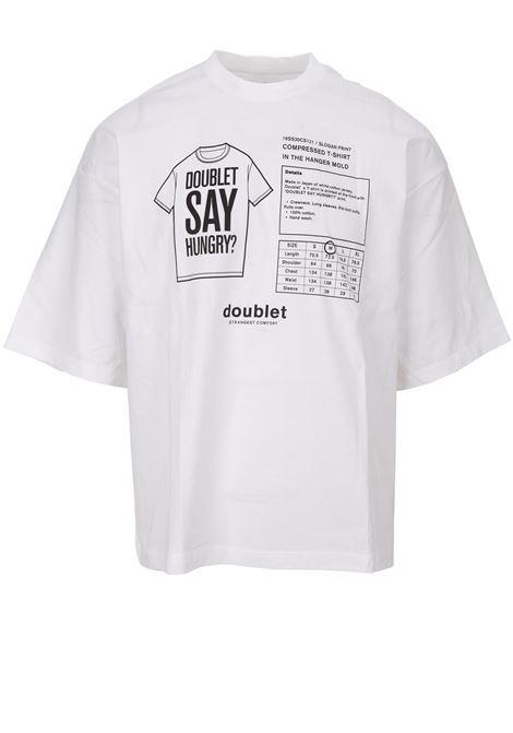 T-shirt Doublet Doublet | 8 | 19SS30CS121WHITE