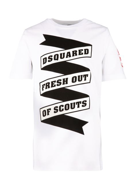 Dsquared2 Junior t-shirt Dsquared2 Junior | 8 | DQ039ZD00TJDQ100