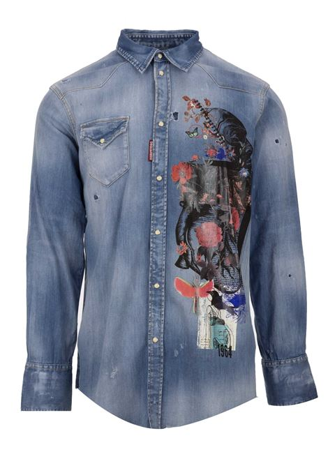 Dsquared2 shirt Dsquared2 | -1043906350 | S71DM0291S30341470