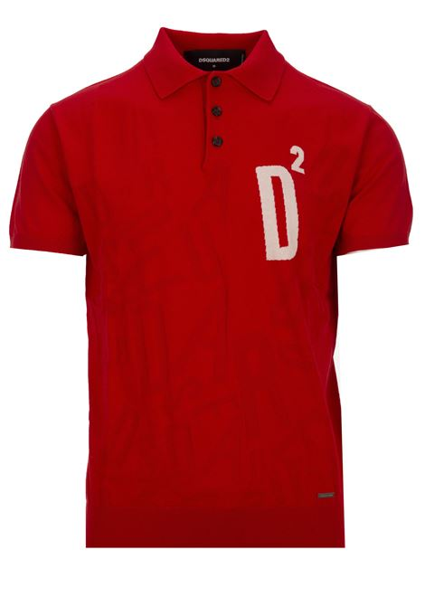 Polo Dsquared2 Dsquared2 | 2 | S71HA0897S16683963