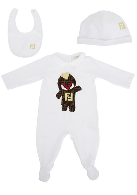 Fendi Kids jumpsuit Fendi Kids | 19 | BUK024ST8F0QA0
