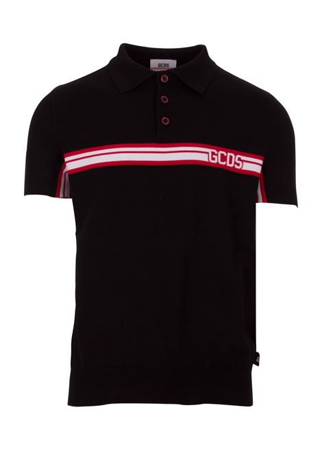 GCDS polo shirt GCDS | 2 | CC94M020151BLACK