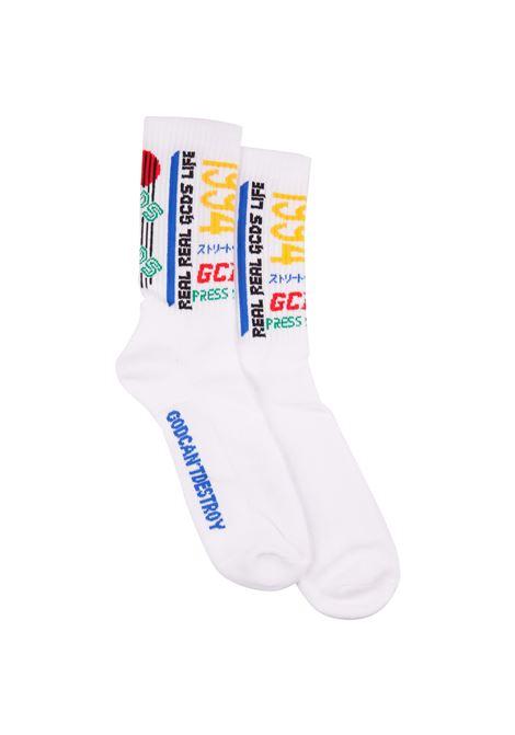 GCDS socks GCDS | -1289250398 | SS19M010063WHITE