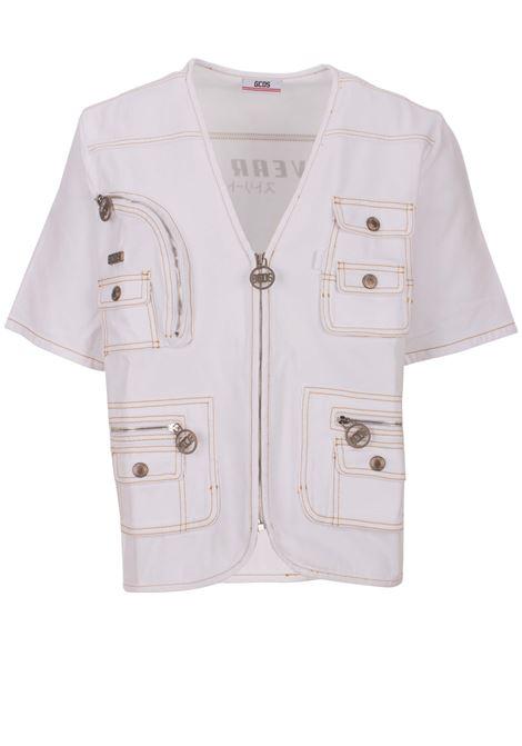 T-Shirt GCDS GCDS | 13 | SS19M020007WHITE