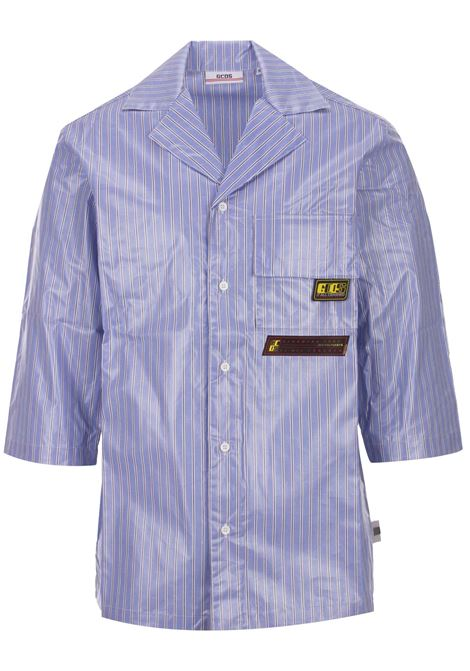 GCDS shirt GCDS | -1043906350 | SS19M020023LIGHTBLUE