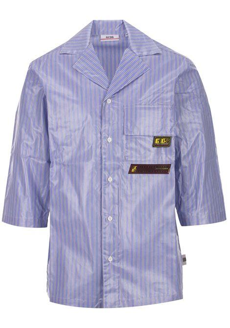Camicia GCDS GCDS | -1043906350 | SS19M020023LIGHTBLUE