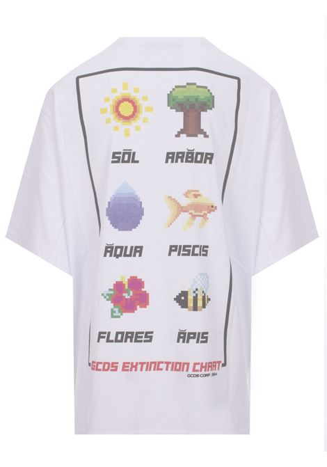 GCDS t-shirt GCDS | 8 | SS19M020057WHITE