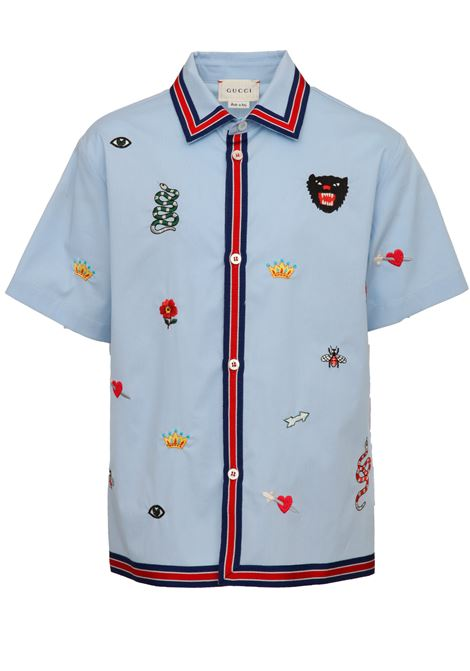 Camicia Gucci Junior Gucci Junior | -1043906350 | 540732XWABA4851