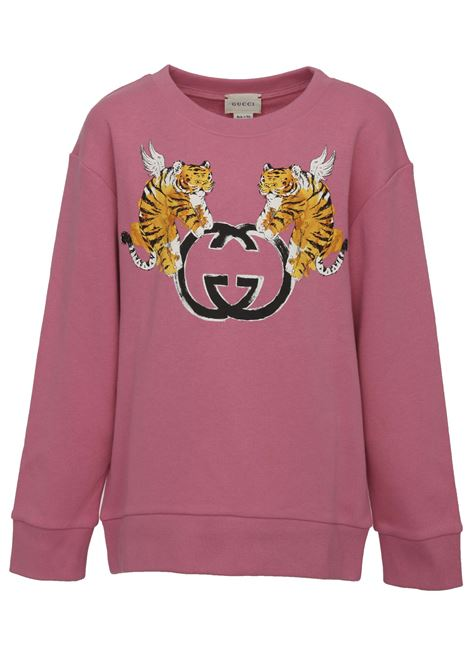 Felpa Gucci Junior Gucci Junior | -108764232 | 543894XJAMB5608
