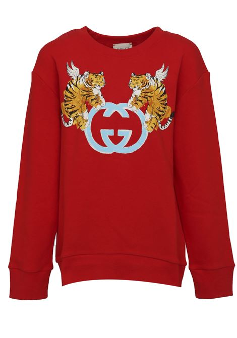 Felpa Gucci Junior Gucci Junior | -108764232 | 543894XJAMB6260