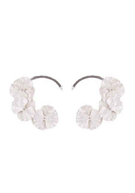 Maria Lucia Hohan earrings Maria Lucia Hohan | 48 | FLOWERSILVERWHITE