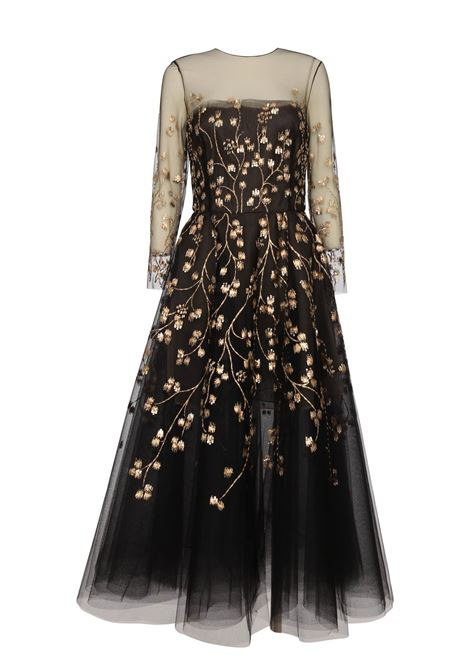 Oscar de la Renta Dress Oscar de la Renta | 11 | 19SE634TULBLACKGOLD