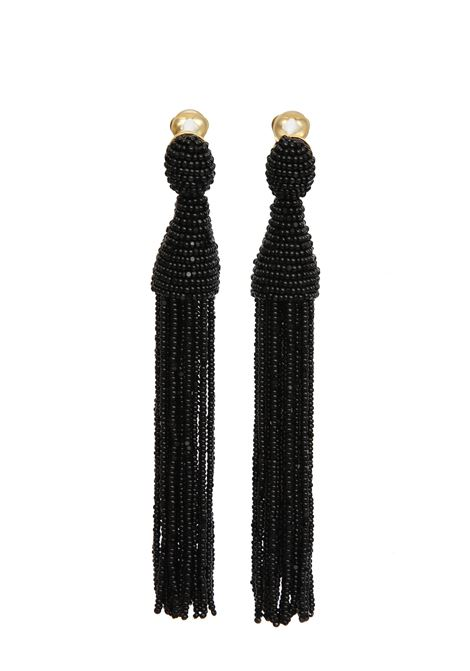 Oscar de la Renta Earrings Oscar de la Renta | 48 | R19J101BLK