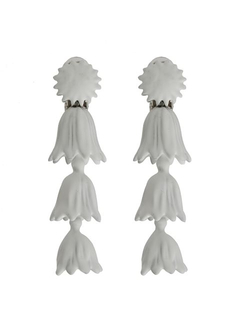 Oscar de la Renta Earrings  Oscar de la Renta | 48 | R19J195WHT