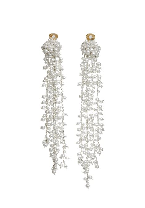 Oscar de la Renta Earrings  Oscar de la Renta | 48 | R19J903WHT