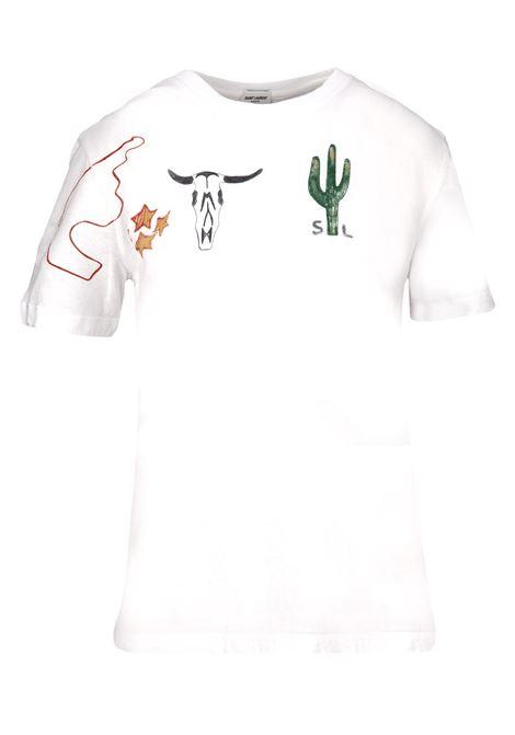 T-shirt Saint Laurent Saint Laurent   8   553983YBDI28486