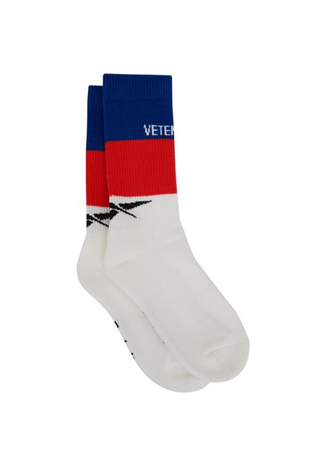 Vetements socks Vetements | -1289250398 | USS198031BLUEWHITERED