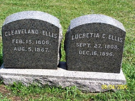 ELLIS, LUCRETIA - Barry County, Michigan | LUCRETIA ELLIS - Michigan Gravestone Photos