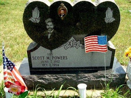 POWERS, SCOTT M. - Barry County, Michigan | SCOTT M. POWERS - Michigan Gravestone Photos