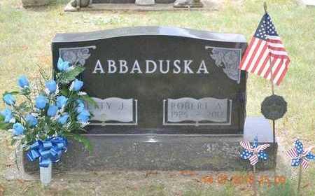 ABBADUSKA, BETTY J. - Branch County, Michigan   BETTY J. ABBADUSKA - Michigan Gravestone Photos