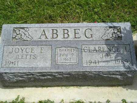 "ABBEG, CLARENCE L. ""JOE"" - Branch County, Michigan | CLARENCE L. ""JOE"" ABBEG - Michigan Gravestone Photos"