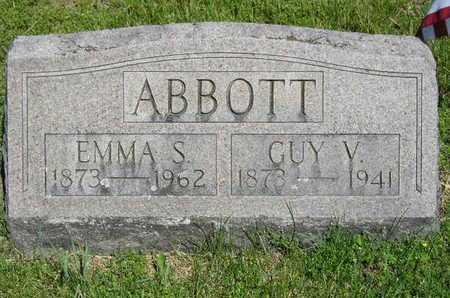 ABBOTT, GUY V. - Branch County, Michigan   GUY V. ABBOTT - Michigan Gravestone Photos
