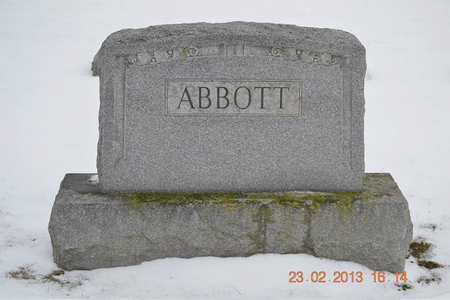 ABBOTT, FAMILY - Branch County, Michigan | FAMILY ABBOTT - Michigan Gravestone Photos