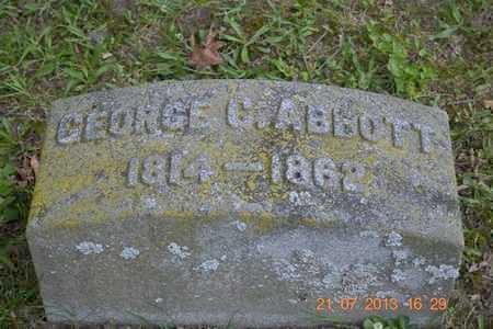 ABBOTT, GEORGE C. - Branch County, Michigan | GEORGE C. ABBOTT - Michigan Gravestone Photos