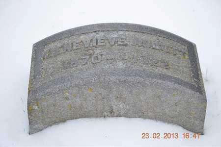 ABBOTT, GENEVIEVE - Branch County, Michigan   GENEVIEVE ABBOTT - Michigan Gravestone Photos