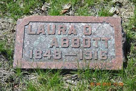 ABBOTT, LAURA O. - Branch County, Michigan | LAURA O. ABBOTT - Michigan Gravestone Photos